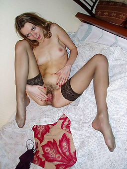 sexy hairy girls in stockings twitting