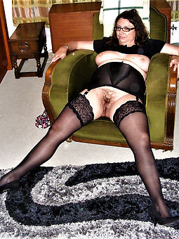 hairy girls in stockings stripping