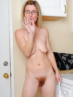 nude pictures of hairy tow-haired milf