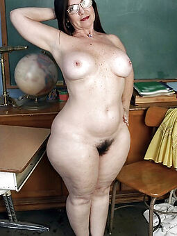 titillating brunette hairy pussy stripping