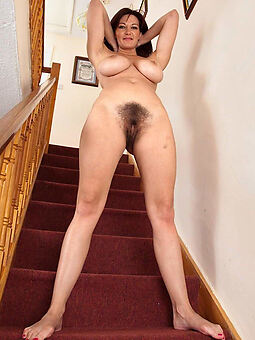 unconcealed hairy housewife pussy stripping