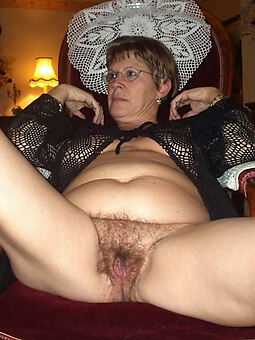 sexy old hairy pussy stripping