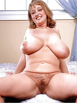 sexy big tits hairy pussy tease