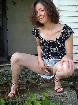hairy pussy upskirts Bohemian porn pics