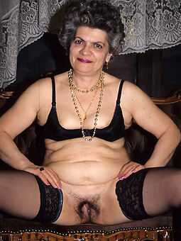 hairy pussy granny tease