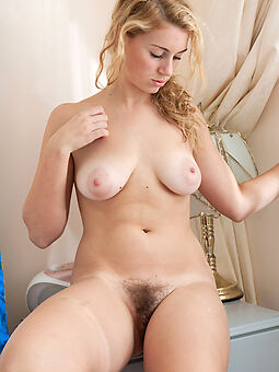 hairy blond tease