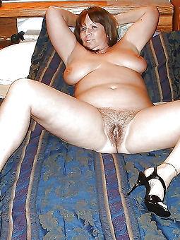 alluring chubby hairy mature women