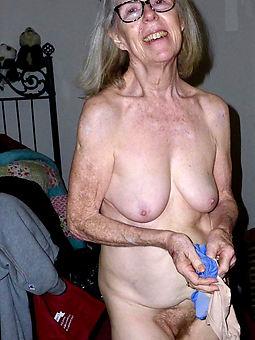 old granny hairy tease
