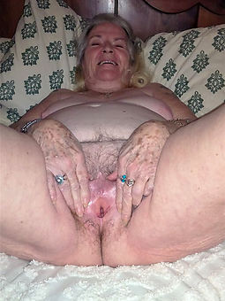 naughty grannie flimsy pussy