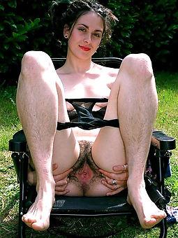 hairy women legs blue pics