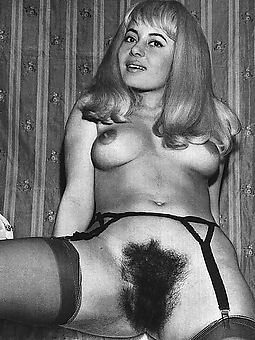 pretty hairy vintage pictures