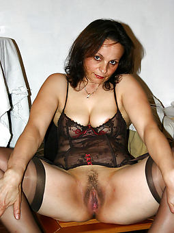 hairy pussy nylons stripping
