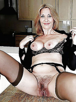 hairy matures in stockings free porn