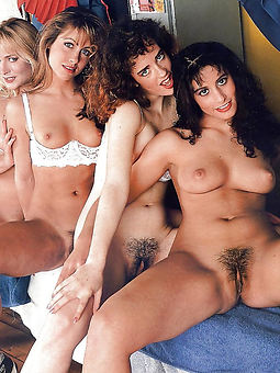 nude pictures of retro hairy women