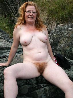 wild hairy redheaded women