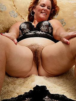 free aged hairy lady
