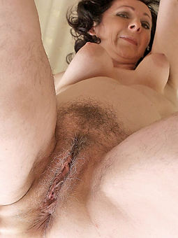 perfect mature hairy lady